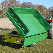 Traktorový návěs BIG 1.5 2100