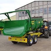 Traktorový návěs BIG BIG 10 13000 - tandem