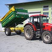 Traktorový návěs BIG BIG 10 13000 S3