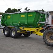 Traktorový návěs BIG 12 18000