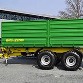 Traktorový návěs BIG 16 22000 S3