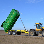 Traktorový návěs BIG 16 22000