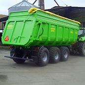 Traktorový návěs BIG 20 27000 v barvě DEUTZ FAHR
