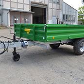 Traktorový návěs BIG 5 6500 - pozinkovaný podvozek