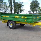 Traktorový návěs BIG 5 6500