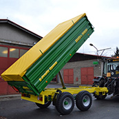 Traktorový návěs BIG 7 9900 S3 tandem
