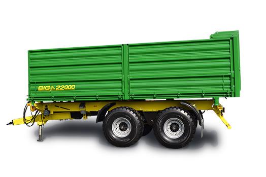 BIG 16 22000 třístranné sklápění
