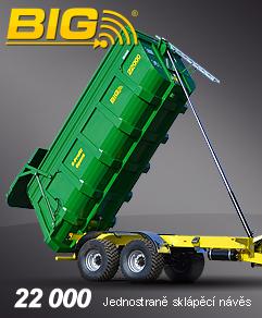 Návěs jednostranné sklápění - BIG 16 22000
